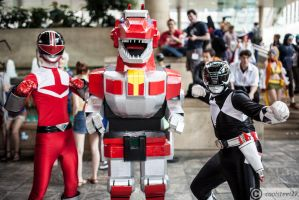 Power Rangers Group by coolsteel