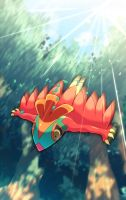 Flying Press of Hawlucha by tamaume