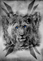 Surreal Lion by Megahalo
