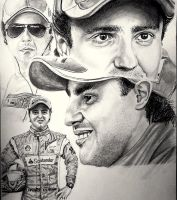 Felipe Massa by Galbatore
