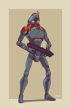 Upgraded B1 Battle Droid by Blazbaros