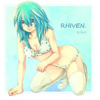 RR: Rhiven Color by nidoriko