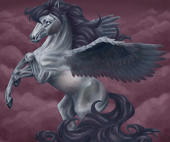 Pegasus for So-naa by psychopony