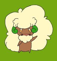 Whimsicott in Colour by FirionRoseII