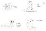Hard to Draw/Awkward Pony Poses - 03 by that-lil-trans-boy