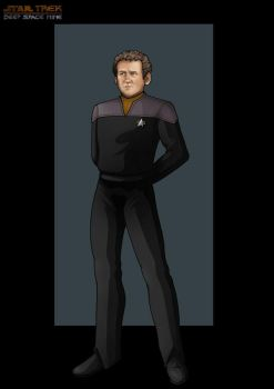 chief miles o'brien  -  DS9 by nightwing1975