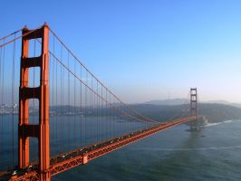 Golden Gate by IronMantis
