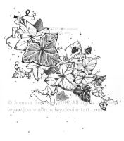 Natures Magic Ink Drawing by JoannaBromley