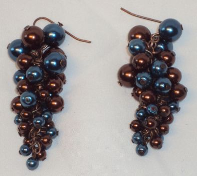 grapevine earrings - SOLD by ACrowsCollection
