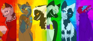 .:RaInBoW:oF:cHaRaCtErS:. by Swift-The-Kitty