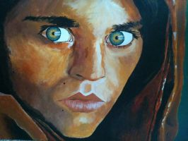 Afghan girl by facesofplaces