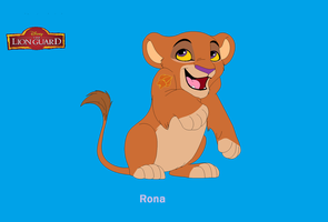 Rona: The Lion Guard's New Leader by PinocchioDisneyFreak