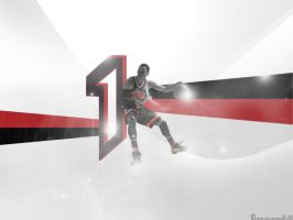 Derrick Rose Wallpaper 1 by t-ton