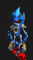 Metal Sonic: A gift for Fuboo by EvilWheatley