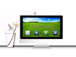 The Grass Rootz homepage by dontbemad