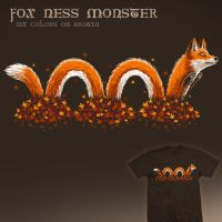 Fox Ness Monster - tee by InfinityWave