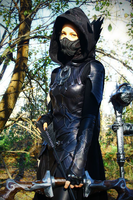Skyrim Nightingale Thief by NinjaForge