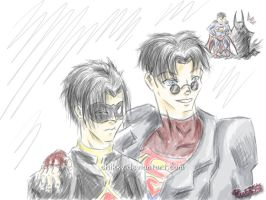 Tim and Kon by ChikKV