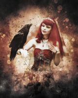 Queen of crows by tryskell