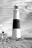 Portland bill lighthouse by Belgarion11