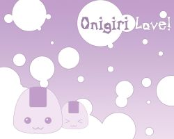 Onigiri Love by querulousArtisan