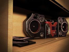 Sony SoundSystem by RafyKoby