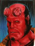 Hellboy by Azima-el