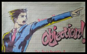Phoenix Wright!! Objection!! by IsaacMont