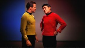 Kirk and Scotty by Dave-Daring