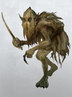 Misty Mountains Goblin by JonHodgson