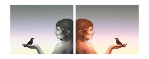 Two Sides of the Same Story by Satanic-Rabbit