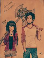 THIS is an axe! - Like father like daughter by xBecksterr