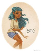 Thanks guys! 500 Followers by AlyssaTallent