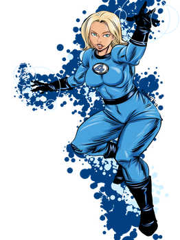 Invisible woman by Claret821021