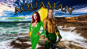 Aquaman starring Dustin Clare and Valerie Wyndham by SWFan1977