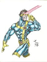 90s Cyclops by jlbhh1977