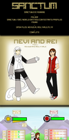 SANCTUM: Nevi and Rei Reference by aternova