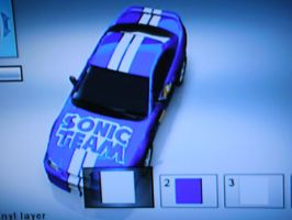 Sonic Team Mustang 1 by mnkywitagun