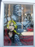 FullMetal Alchemist Window by ladystrife