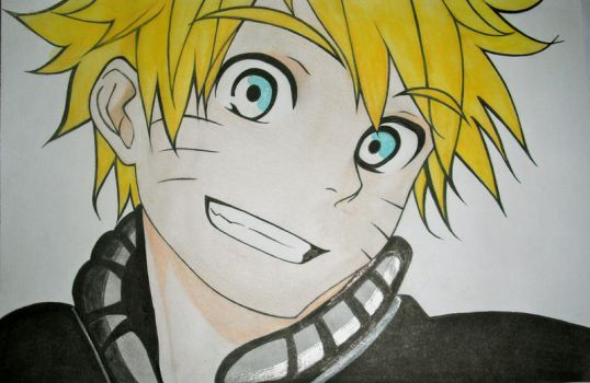 Naruto Uzumaki! Colored by Citoayrc
