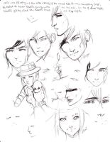 Lose Concept Art-Characters 2 by Tsukiko88