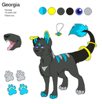 Georgia reference sheet by LeoOfTheDeaD