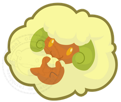Fluffy Whimsicott by ezeqquiel