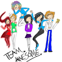 TEAM AWESOME! by Ask-ADPewdiepie