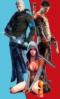 DMC trio by ChrisChaos369