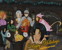 Wishing You Happy Holidays by DemonicTiphia