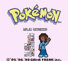 Waju Version 1990s Pokemon Game by ThaMaJesticArtist