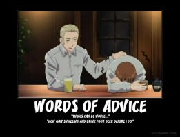 Hetalia Germany and Advice by DragonStalker0713