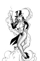 Zatanna by Bill Maus by billmausart
