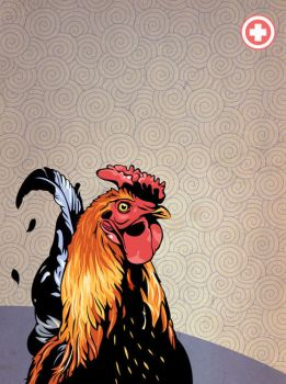 Rooster by lafor